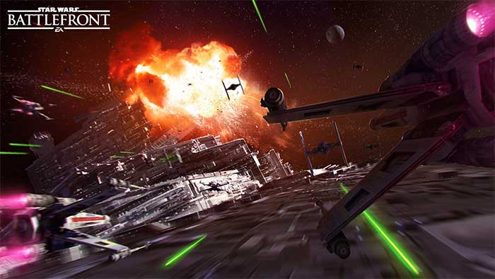 Star Wars Battlefront : l'Étoile de la Mort disponible !