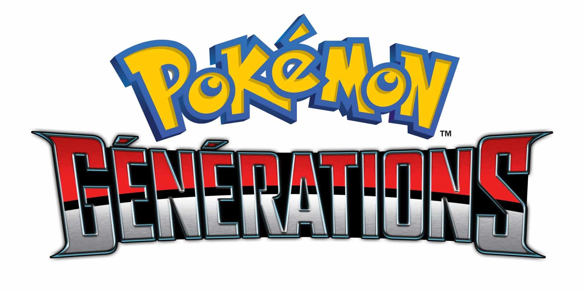 Pokémon Générations fait ses débuts sur Youtube