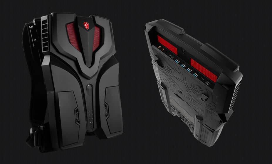 MSI VR One : Un sac à dos pour réalité virtuelle !