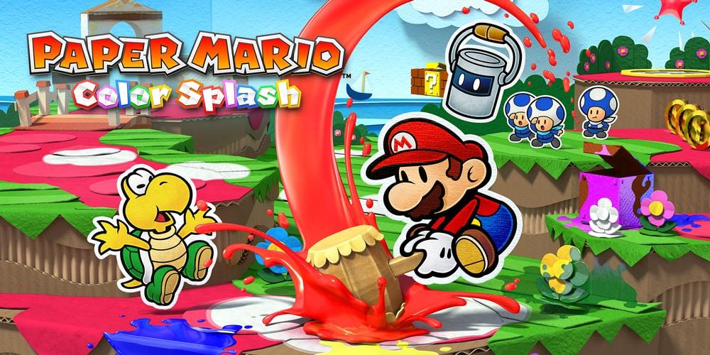 [Preview] Paper Mario Color Splash nous offre un épisode haut en couleur