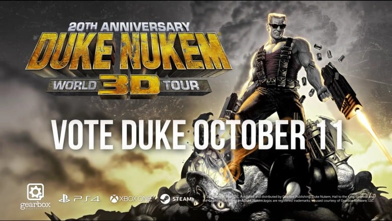 Duke Nukem 3D 20th Anniversary World Tour officialisé