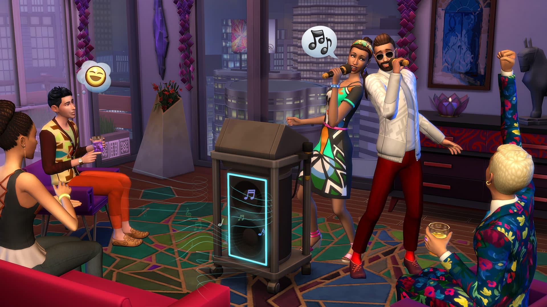 """les Sims 4 : Nouveau pack d'extension """"Vie citadine"""""""