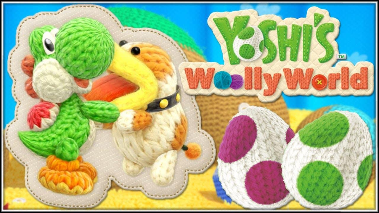 Poochy et Yoshi's Woolly World annoncé sur Nintendo 3DS
