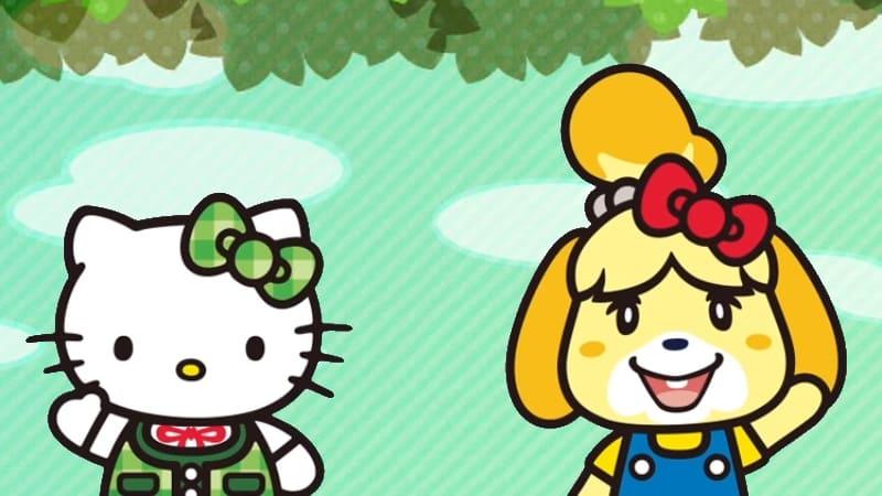Les cartes Amiboo Hello Kitty pour Animal Crossing New Leaf ont été annoncées