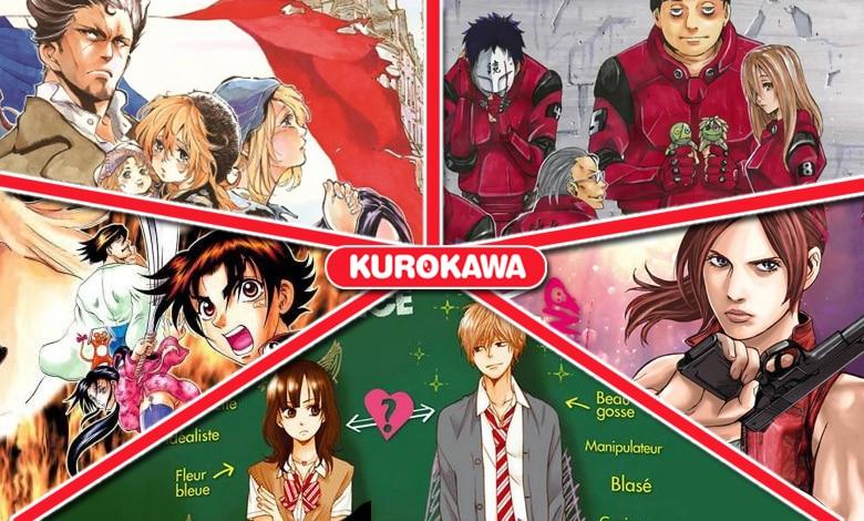 [Critique] Kurokawa : les sorties du mois de septembre