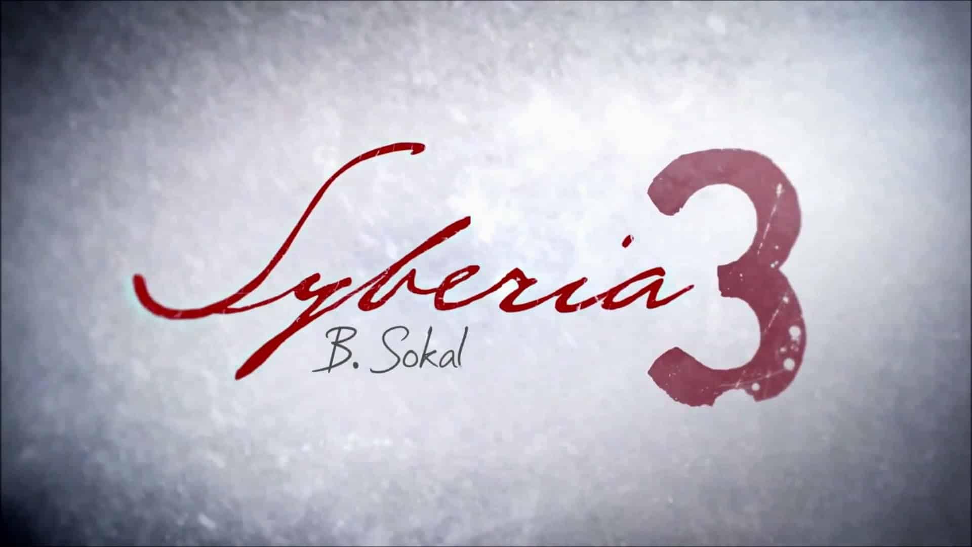 La sortie de Syberia 3 est repoussée