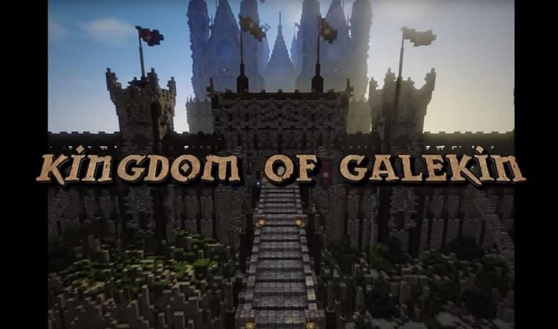 Minecraft : 5 ans pour l'avènement du Royaume de Galekin