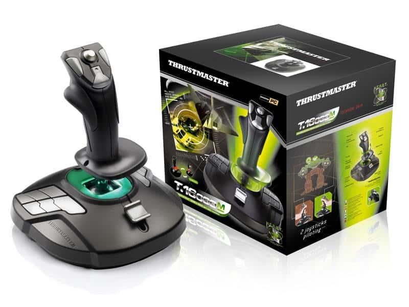 Le joystick Thrustmaster T.16000M fait équipe avec Elite Dangerous Arena