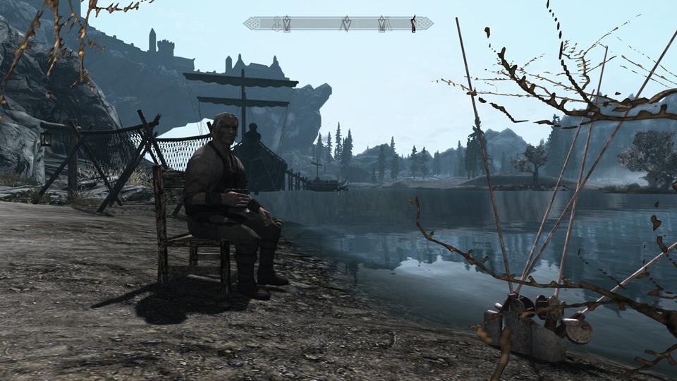 skyrim, pêche