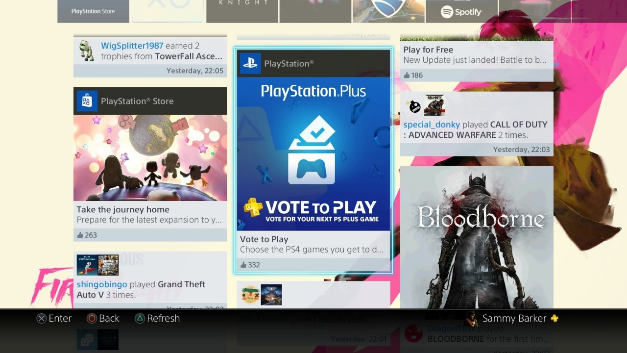 PlayStation Plus vote to play - Image 1