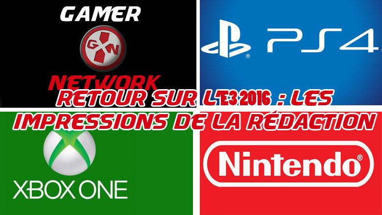 Impression E3 2016